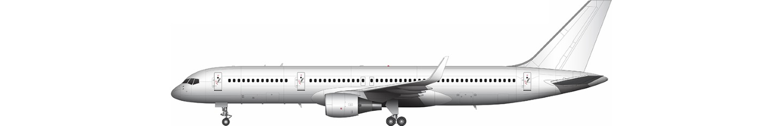 757 illustration