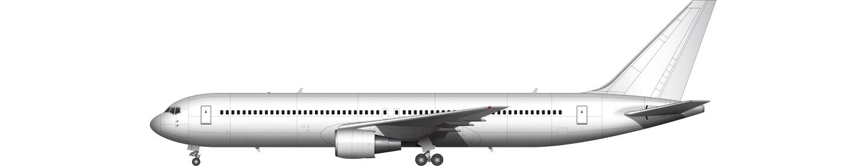 767 illustration
