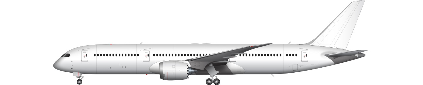 787 illustration