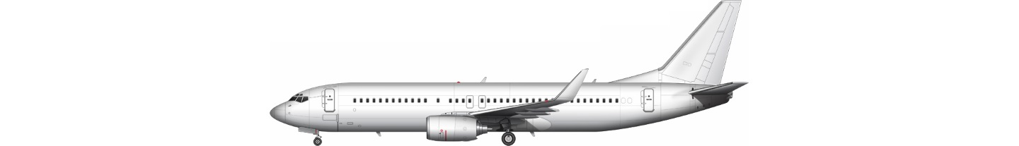 B738 illustration