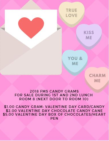 fuller - 2018 fms vday candy grams for sale!!!, Ideas
