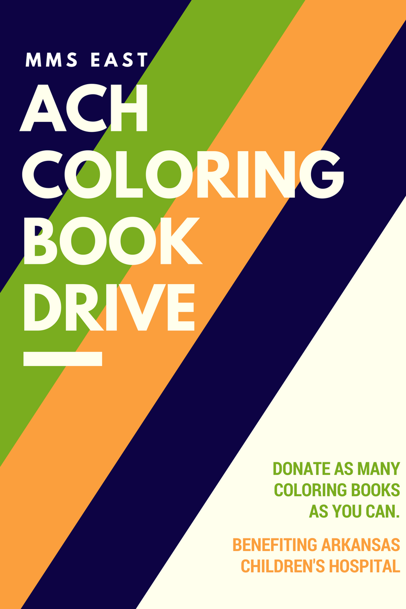 Childrens hospital coloring book - Coloring Book Drive Benefiting Arkansas Children S Hospital