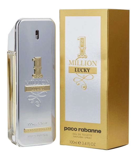 C 1 MILLION LUCKY EAU TOILETTE NATURAL 100 ML