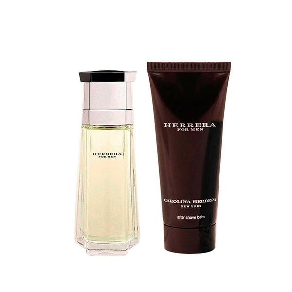 SC HERRERA FOR MEN EDT 100 ML + AFTER SHAVE 100 ML
