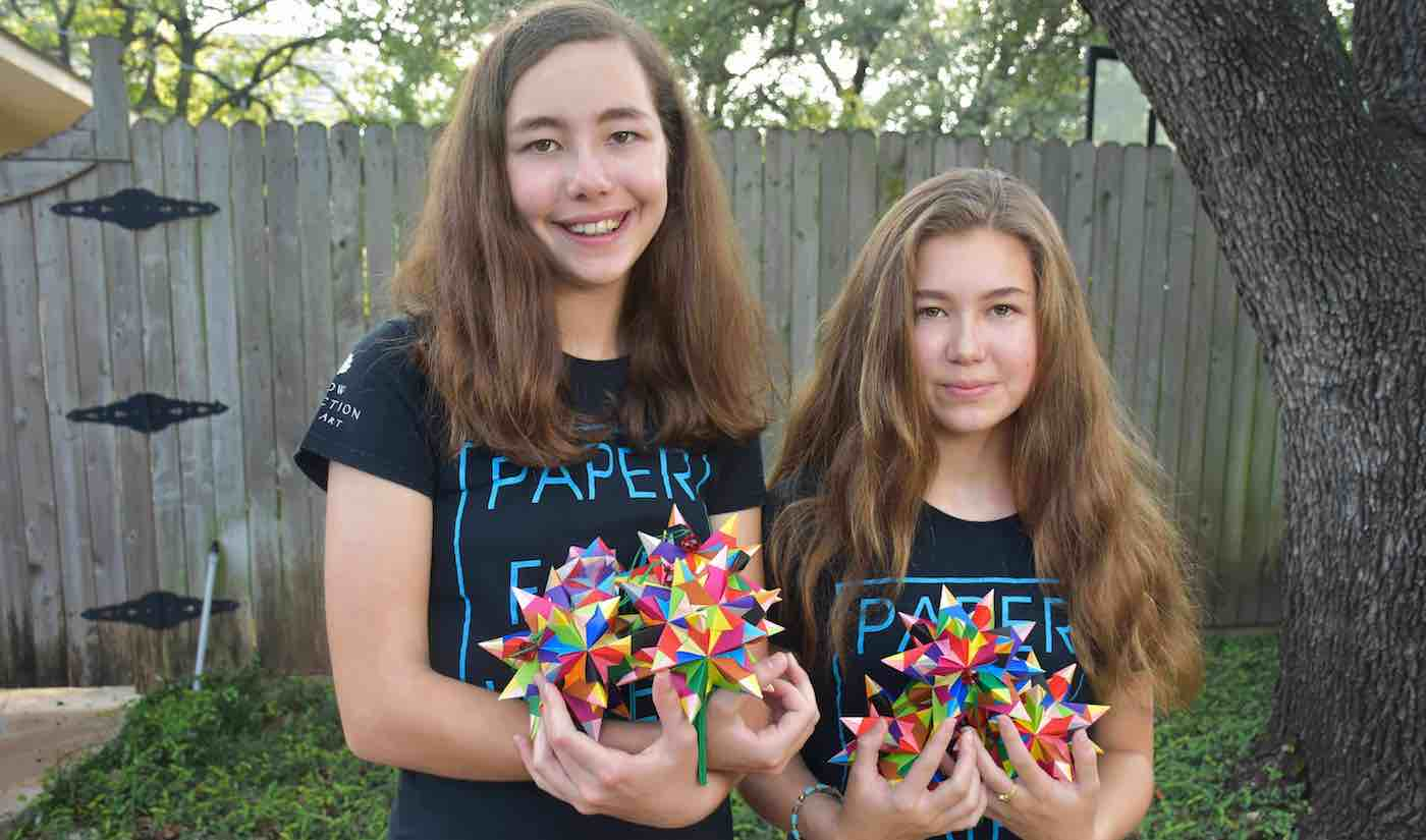 Isabelle and katherine adams released via paper for water website