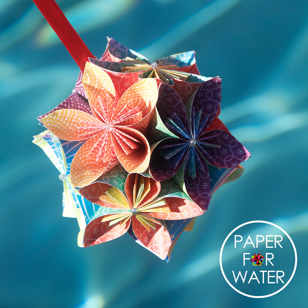 Paper for water facebook share