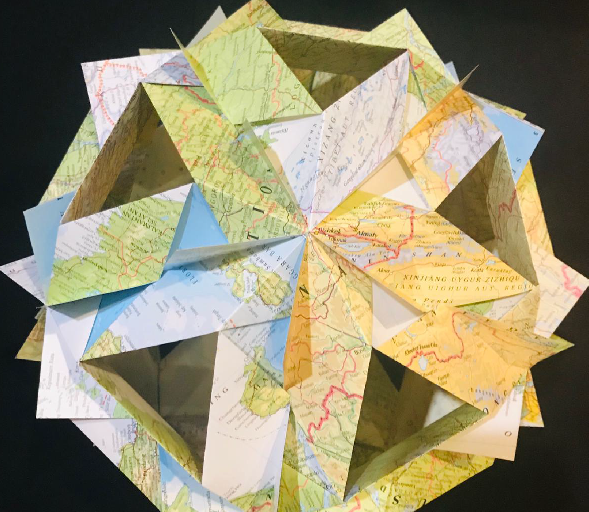 Origami earth day 03