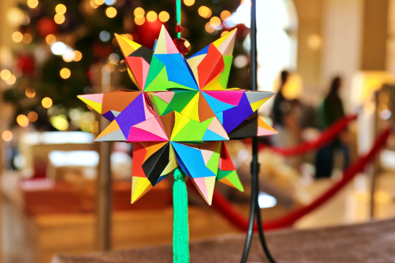 Festive bascetta star