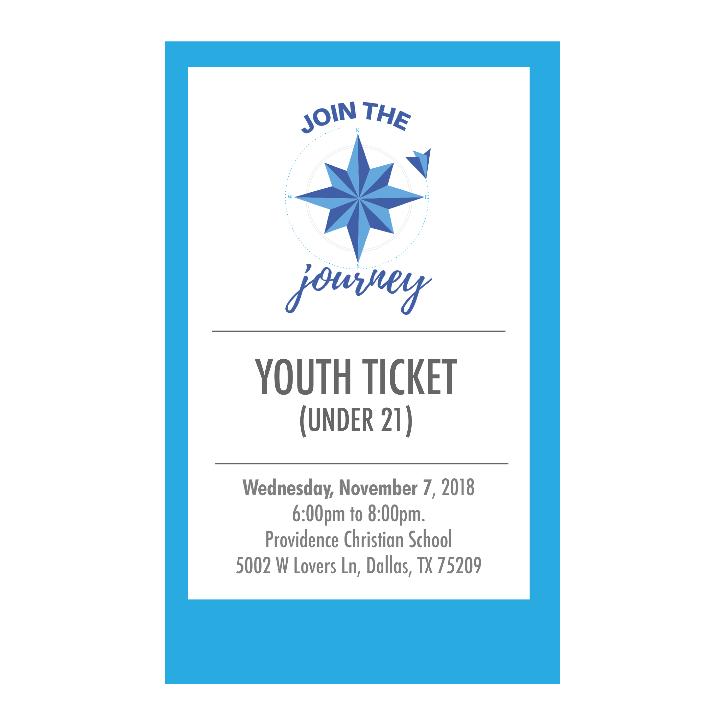 Ticket youth 01