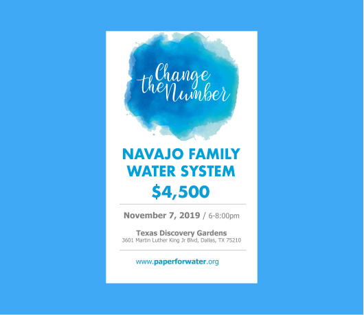 Navajo family water system
