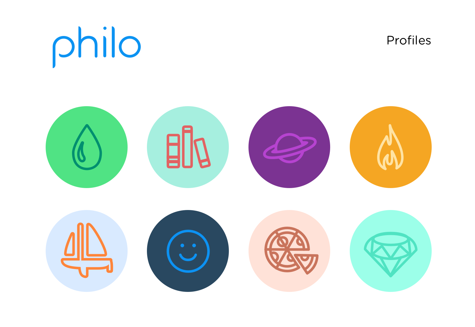 'Philo profile logos'