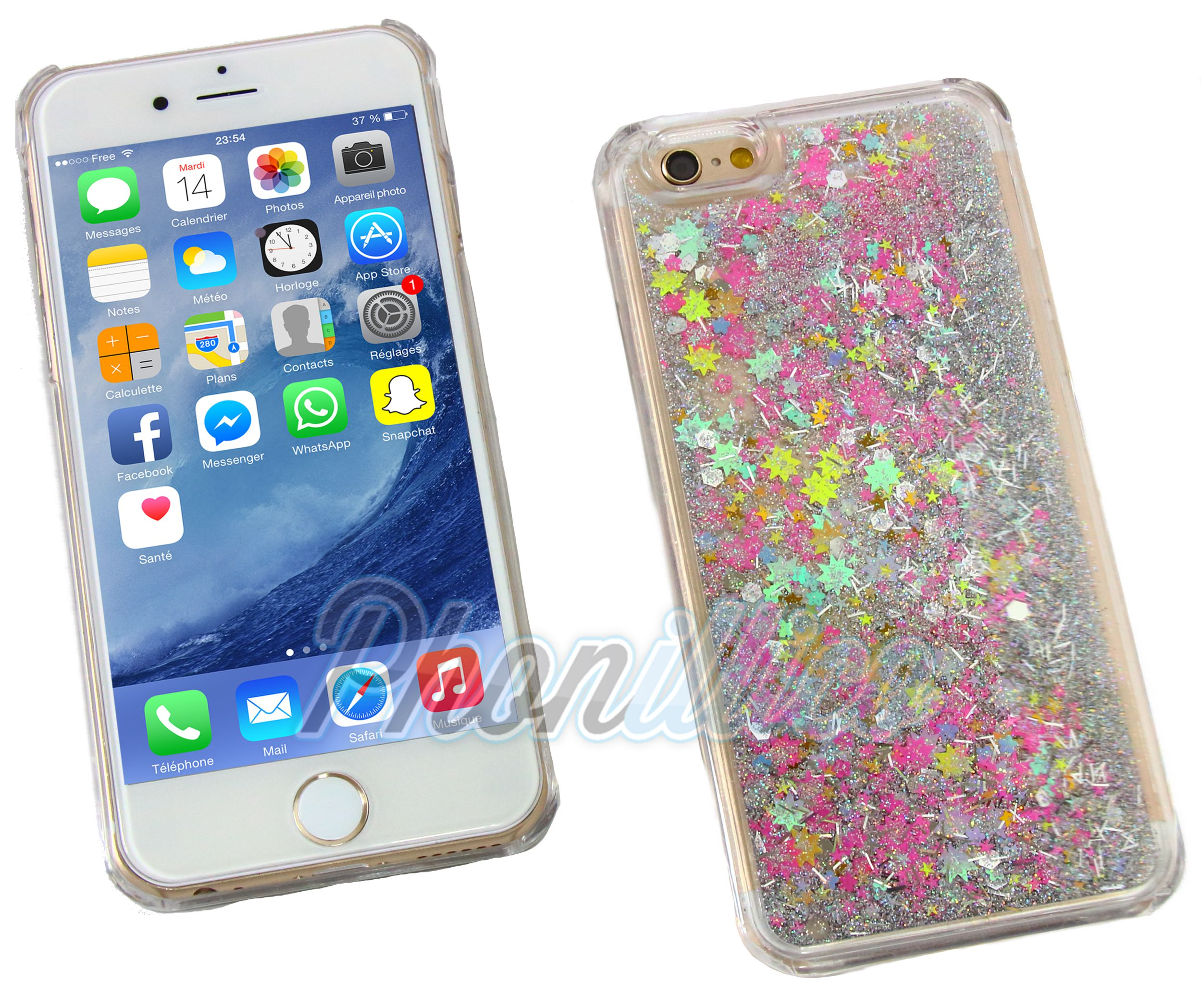 Coque Iphone S Liquide Amazon