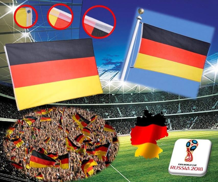 drapeau allemagne flag allemand germany supporter coupe du monde 2018 football ebay. Black Bedroom Furniture Sets. Home Design Ideas