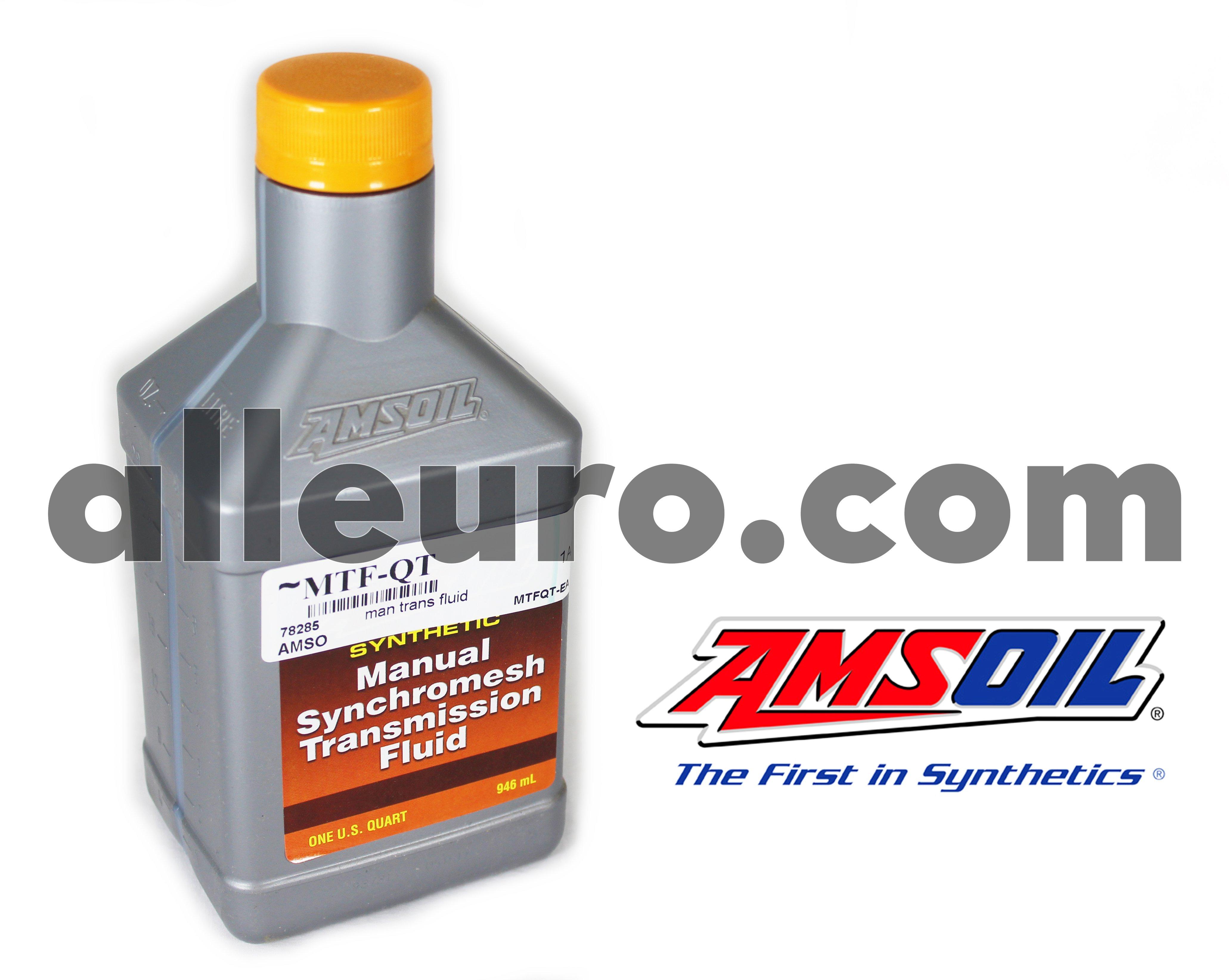 Amsoil Gear Lube / Lubricant MTF-QT - Amsoil Manual Transmission Lube 5w30 synchromesh