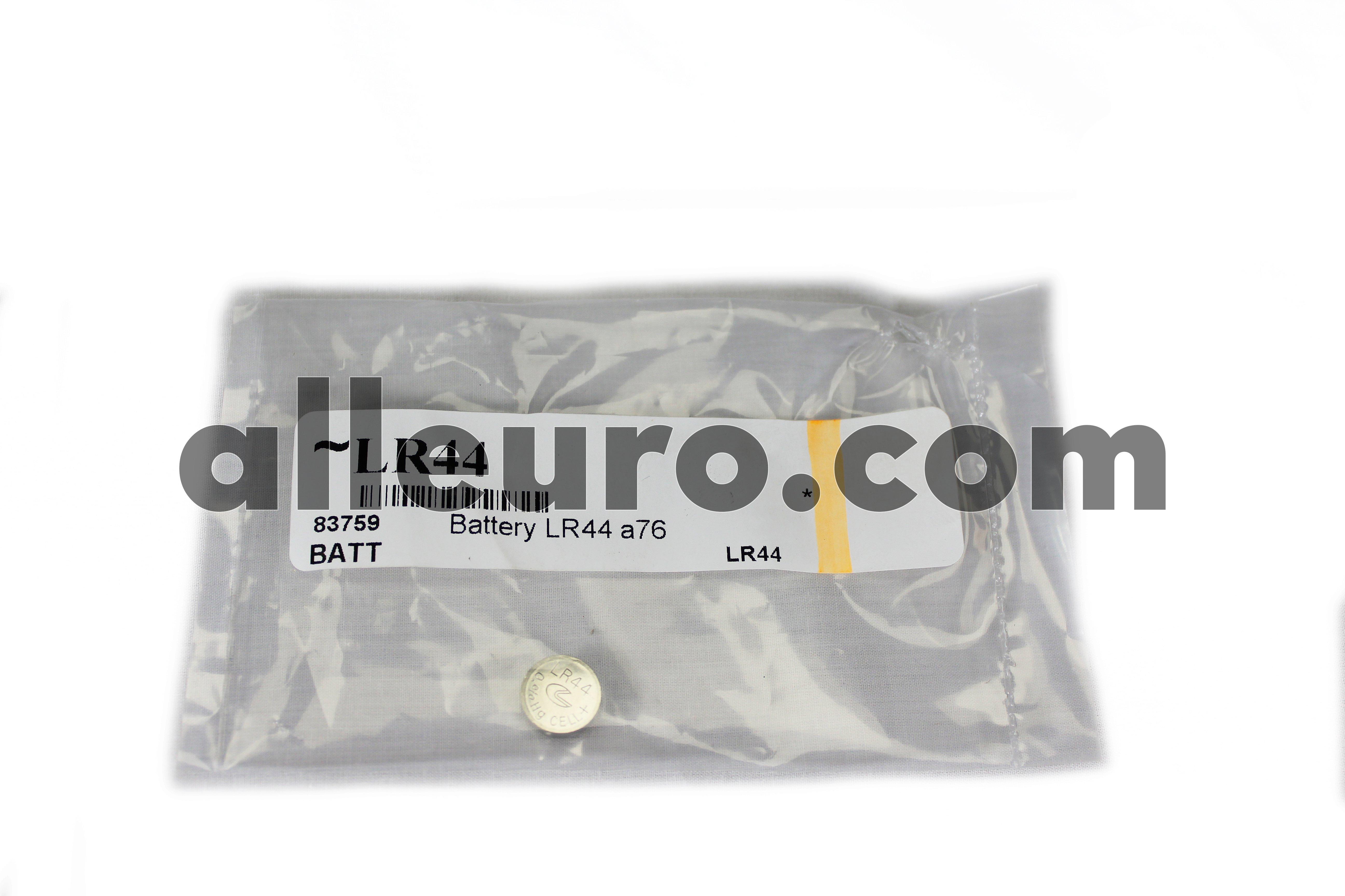 Battery Battery LR44 - Key Remote Fob Battery LR44 a76 1.5v
