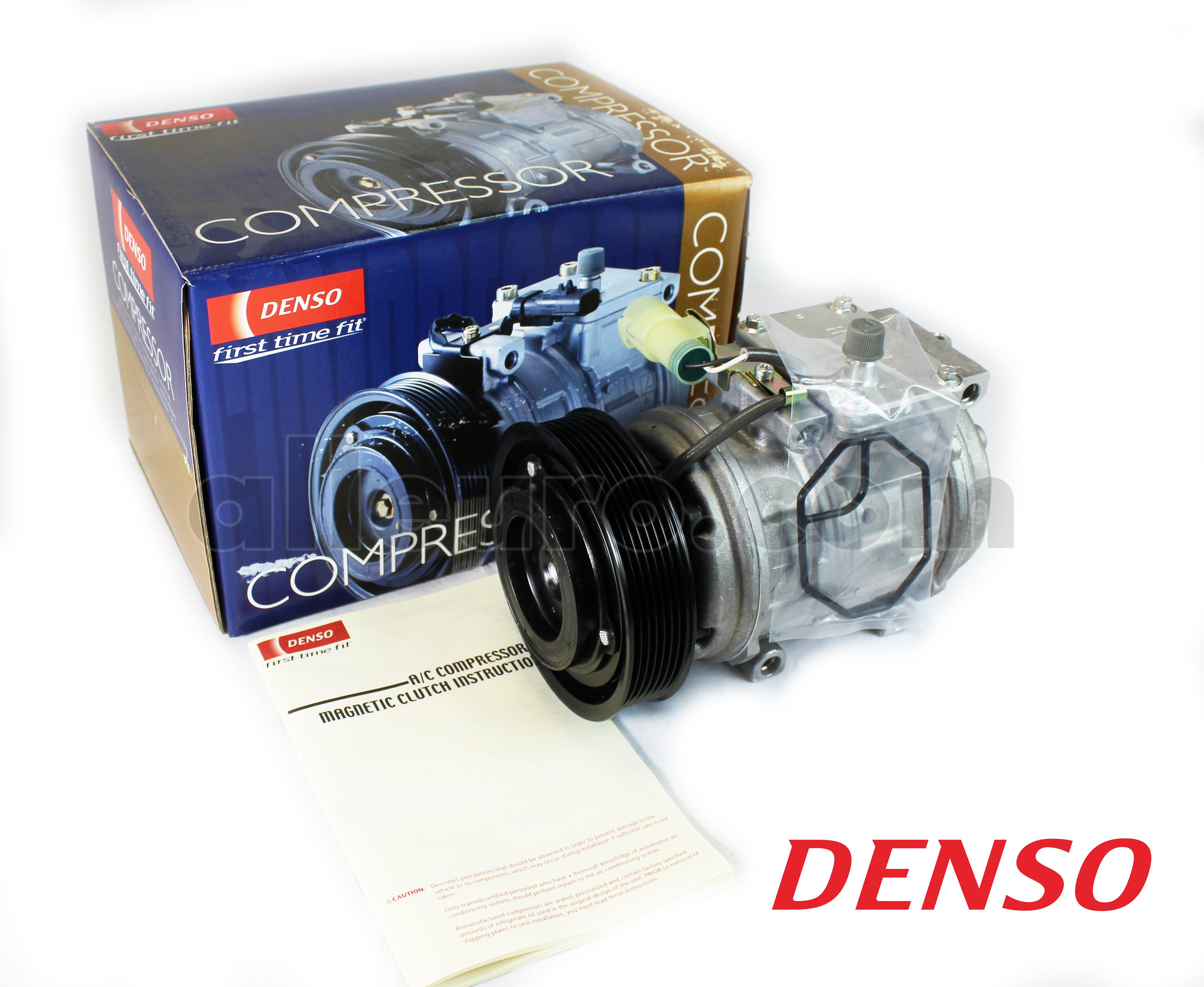 Denso 471-5020 A//C Compressor with Clutch