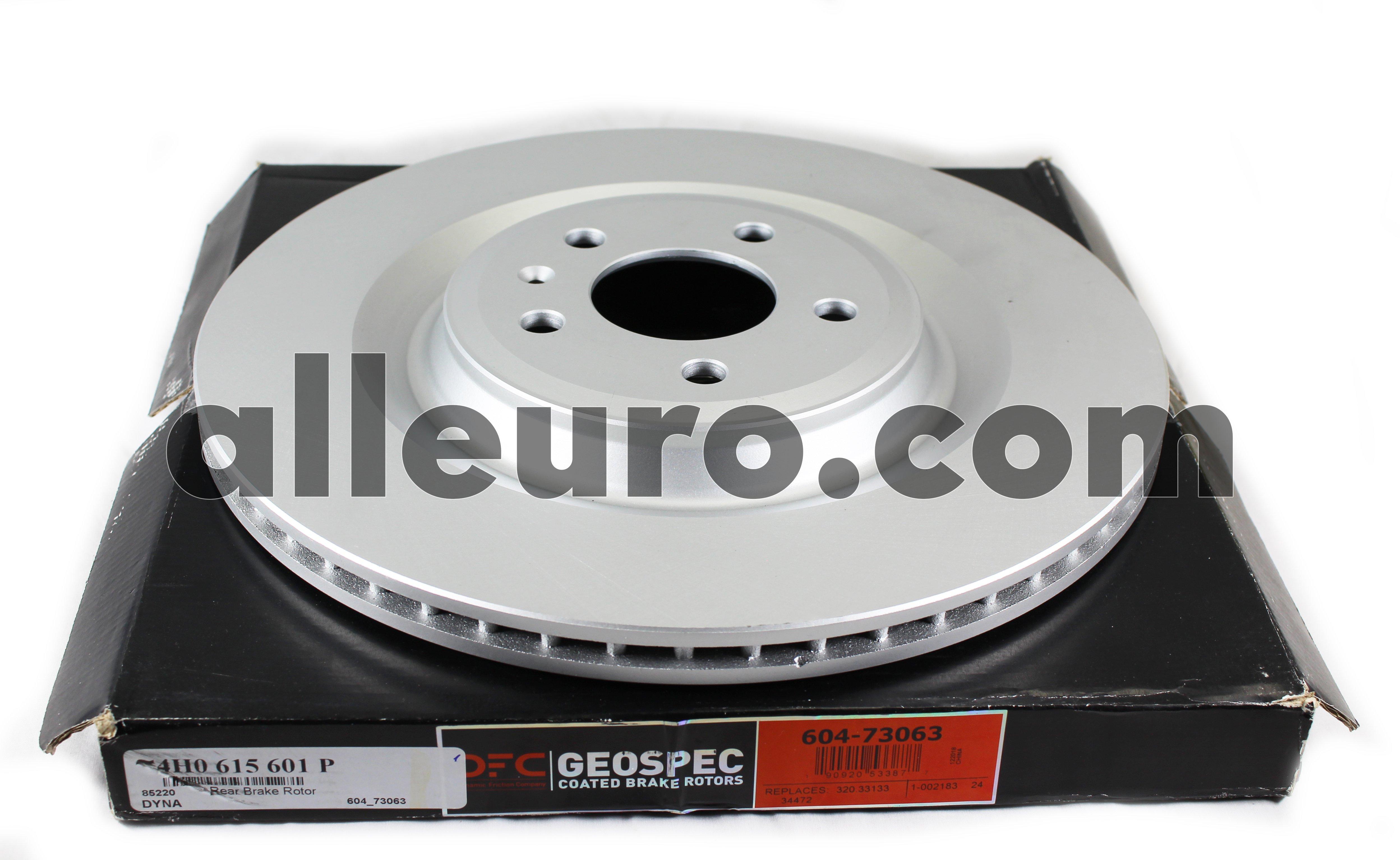 Dynamic Friction Rear Disc Brake Rotor 4H0615601P