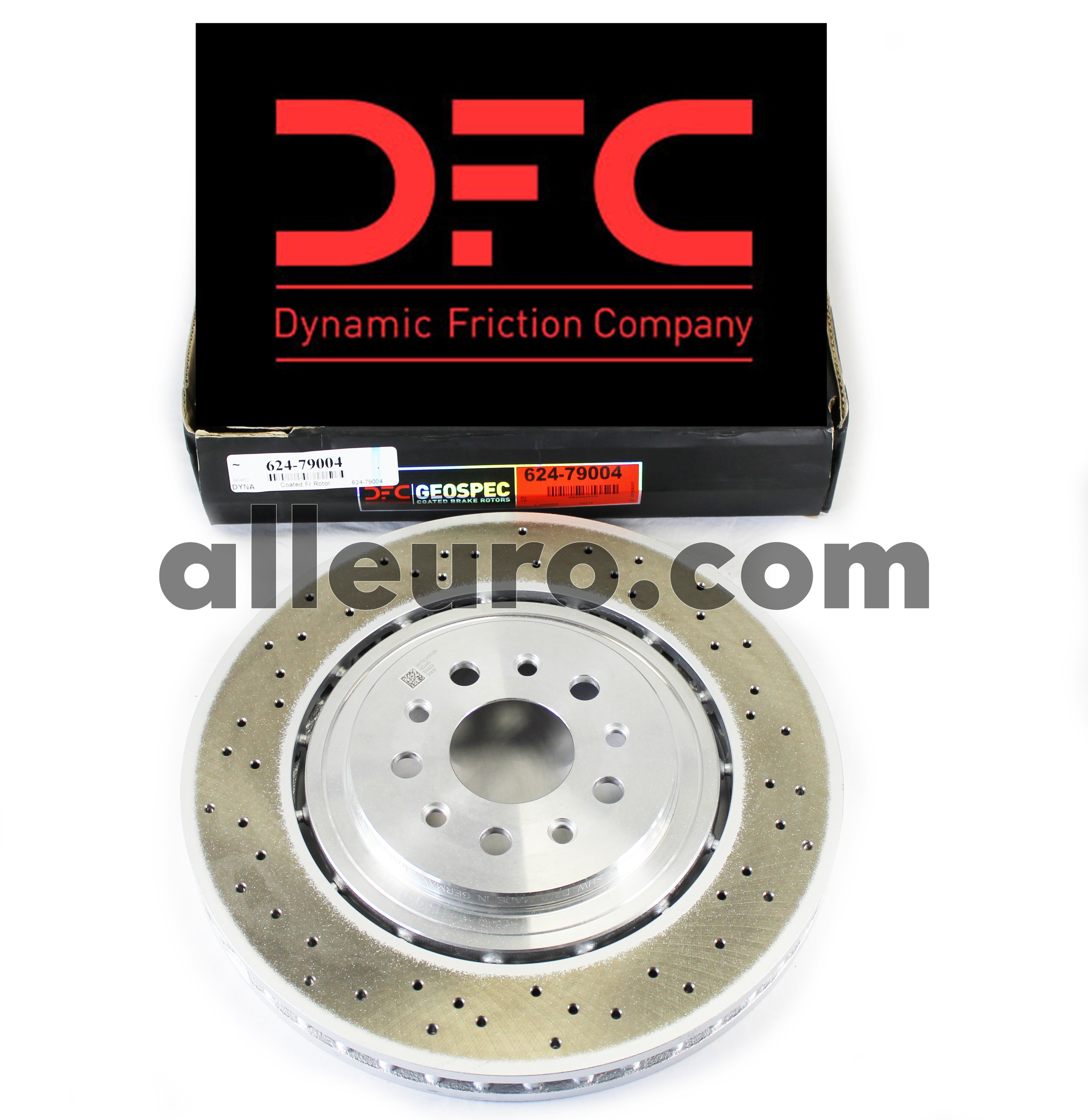 Dynamic Friction Front Disc Brake Rotor 624-79004