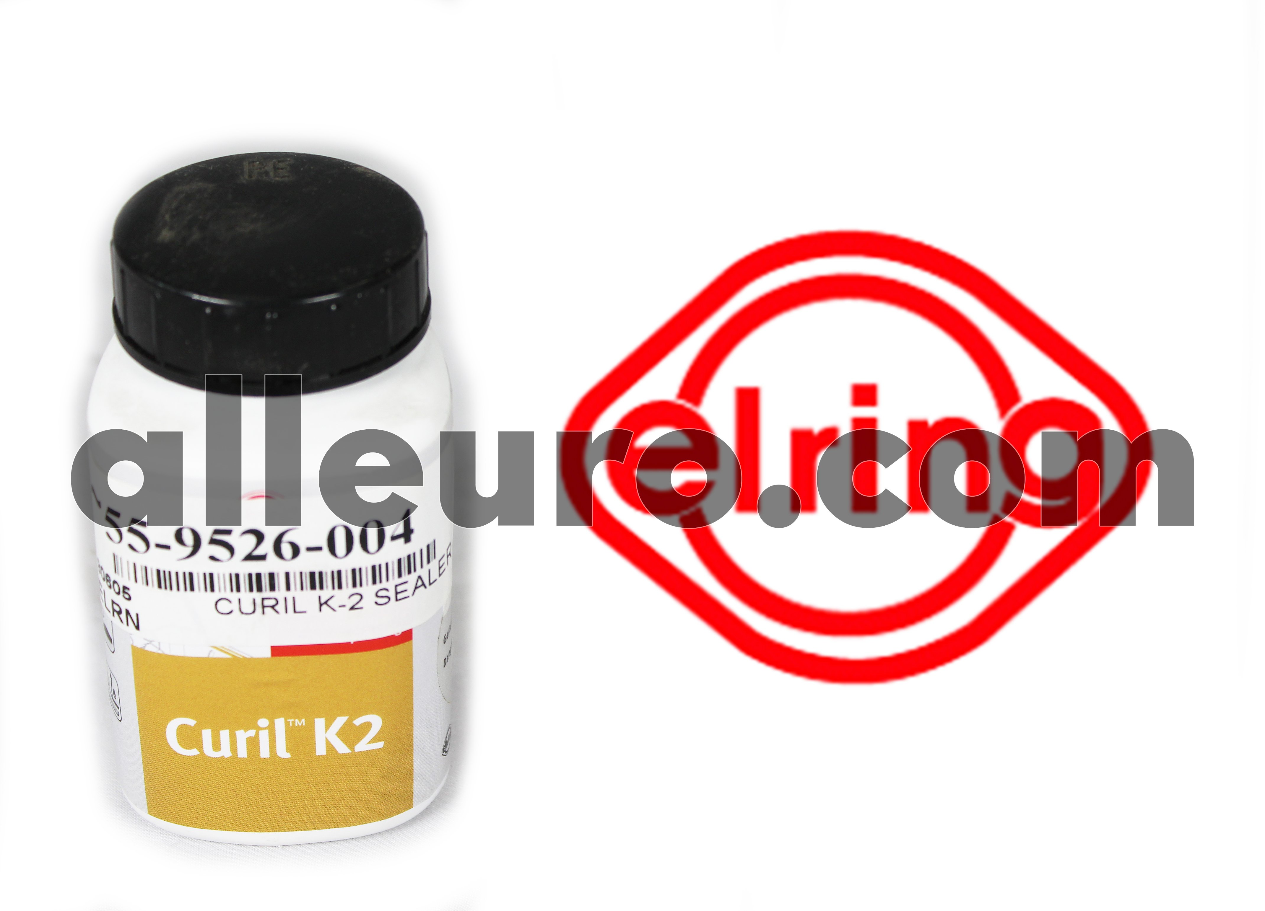 ElringKlinger Sealing Compound Sealant Silicon 55-9526-004 - CURIL K-2 SEALANT COMPOUND 125ml W/ Brush