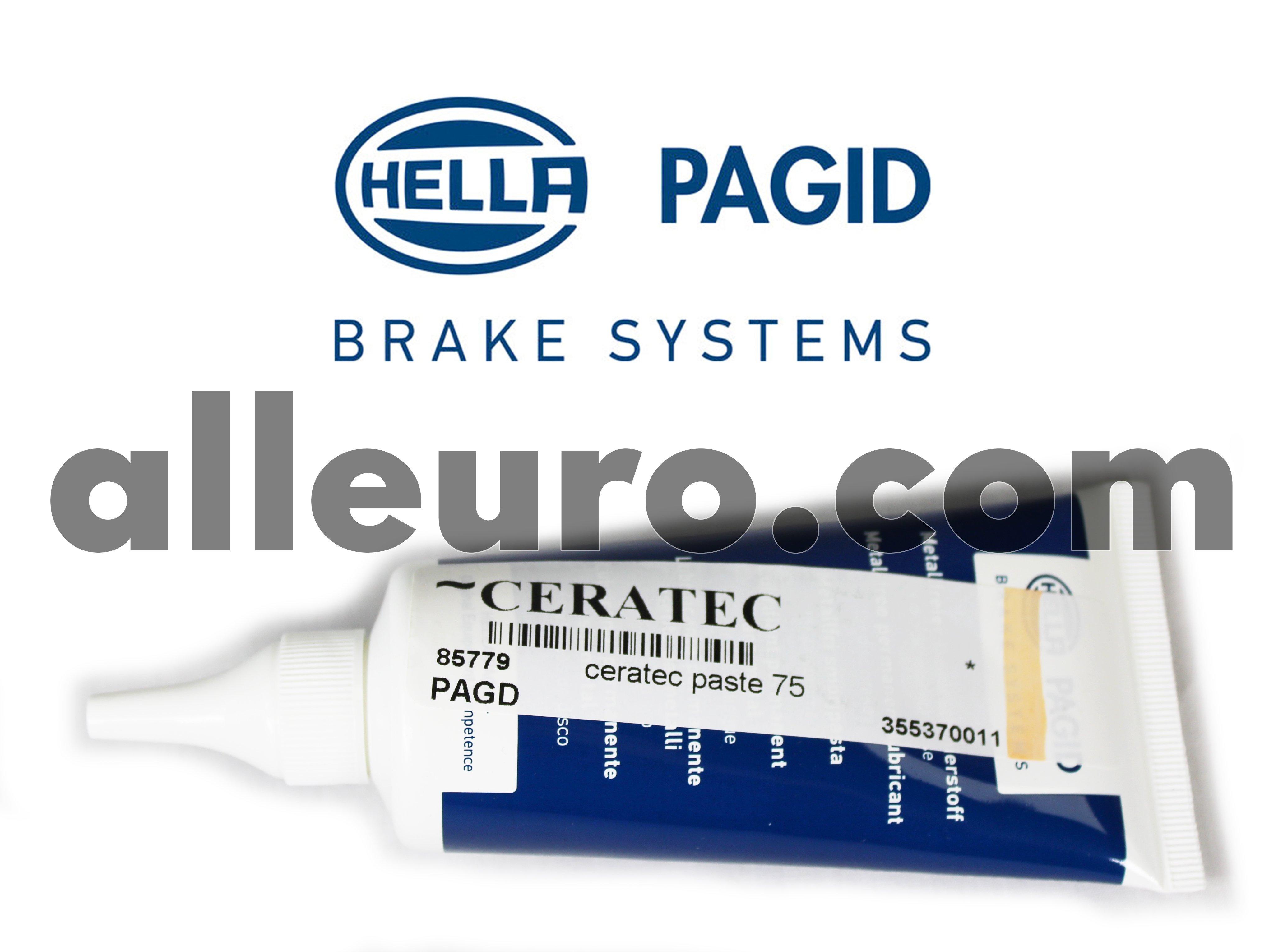 Hella Pagid Brake Lubricant Grease CERATEC - ceratec brake anti-squeal pad paste