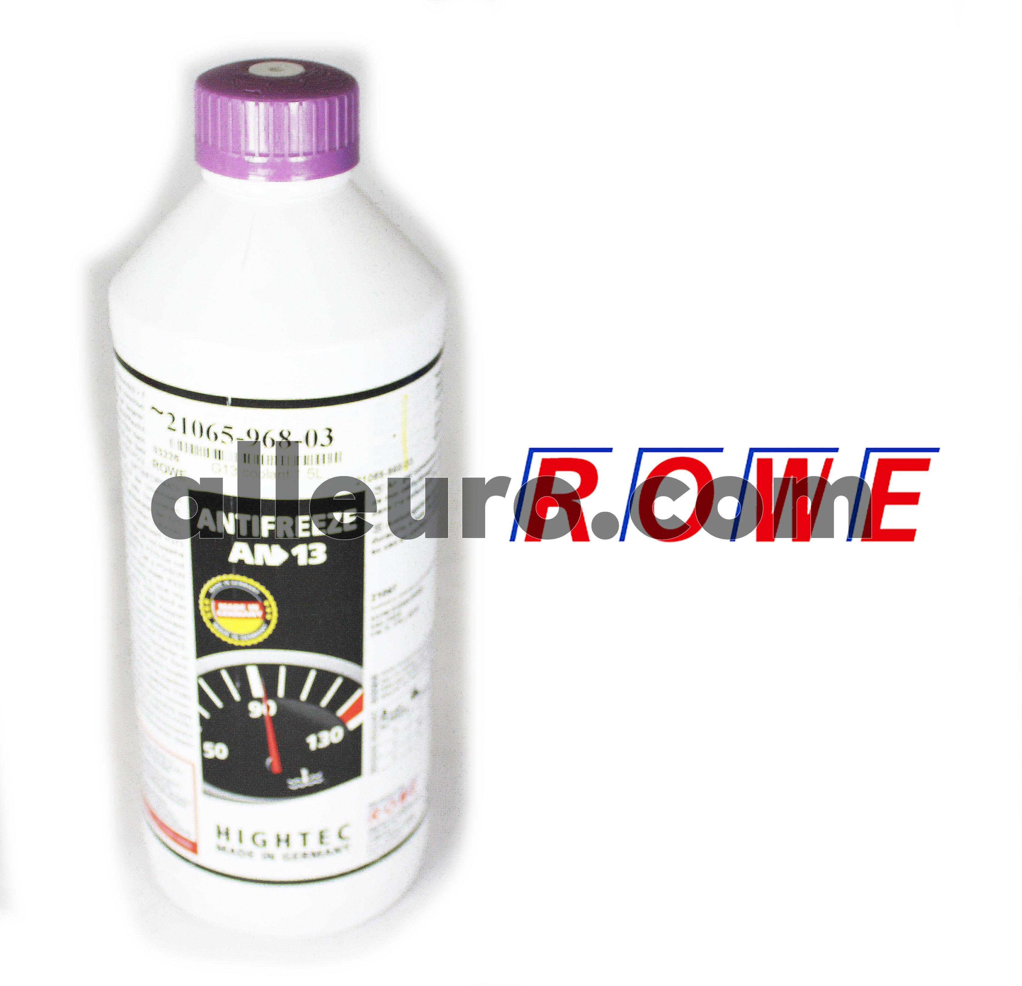 ROWE Engine Coolant / Antifreeze 21065-968-03 - G13 coolant 1.5L