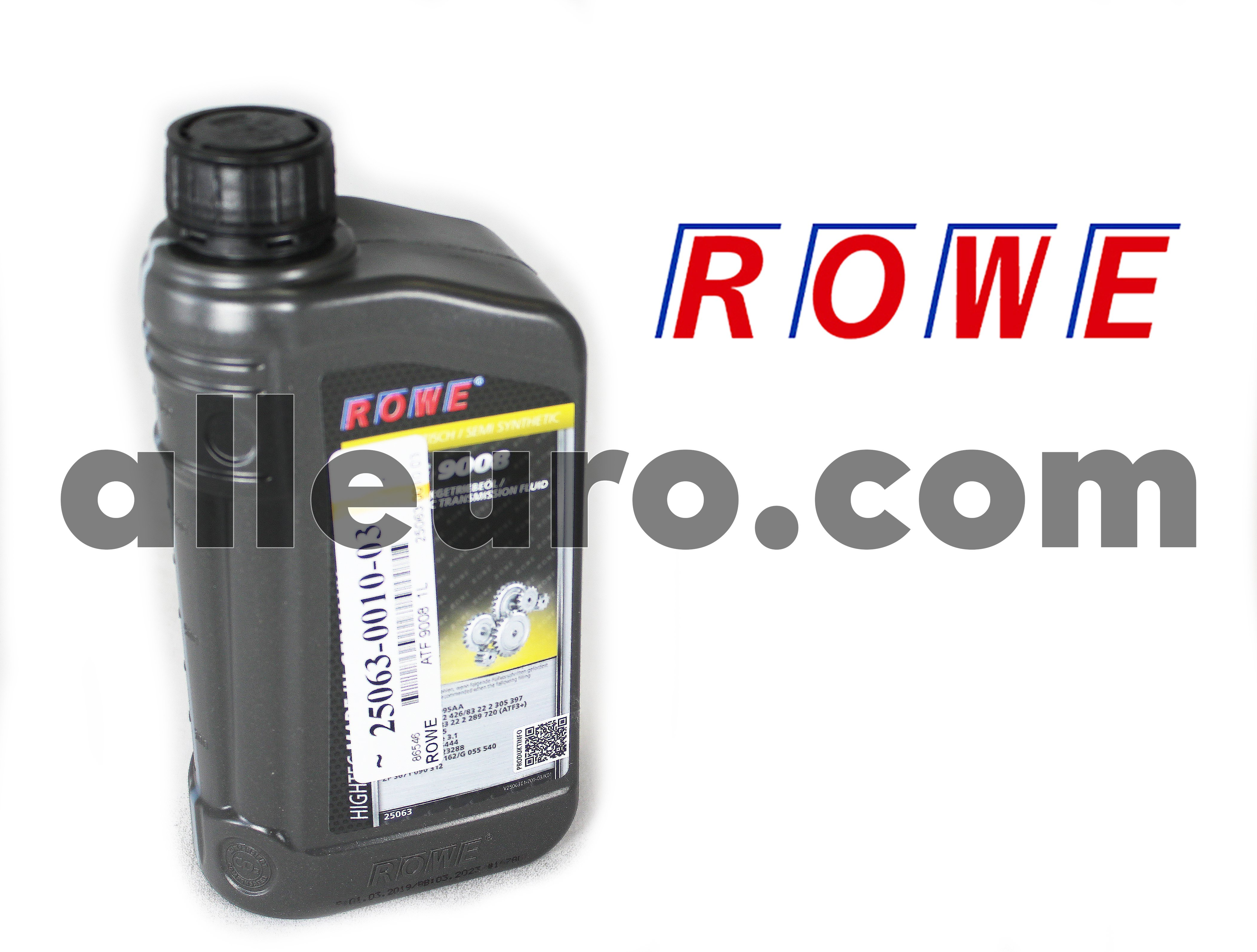 ROWE Automatic Transmission Fluid 1 Liter 25063-0010-03 - ATF 9008  1L