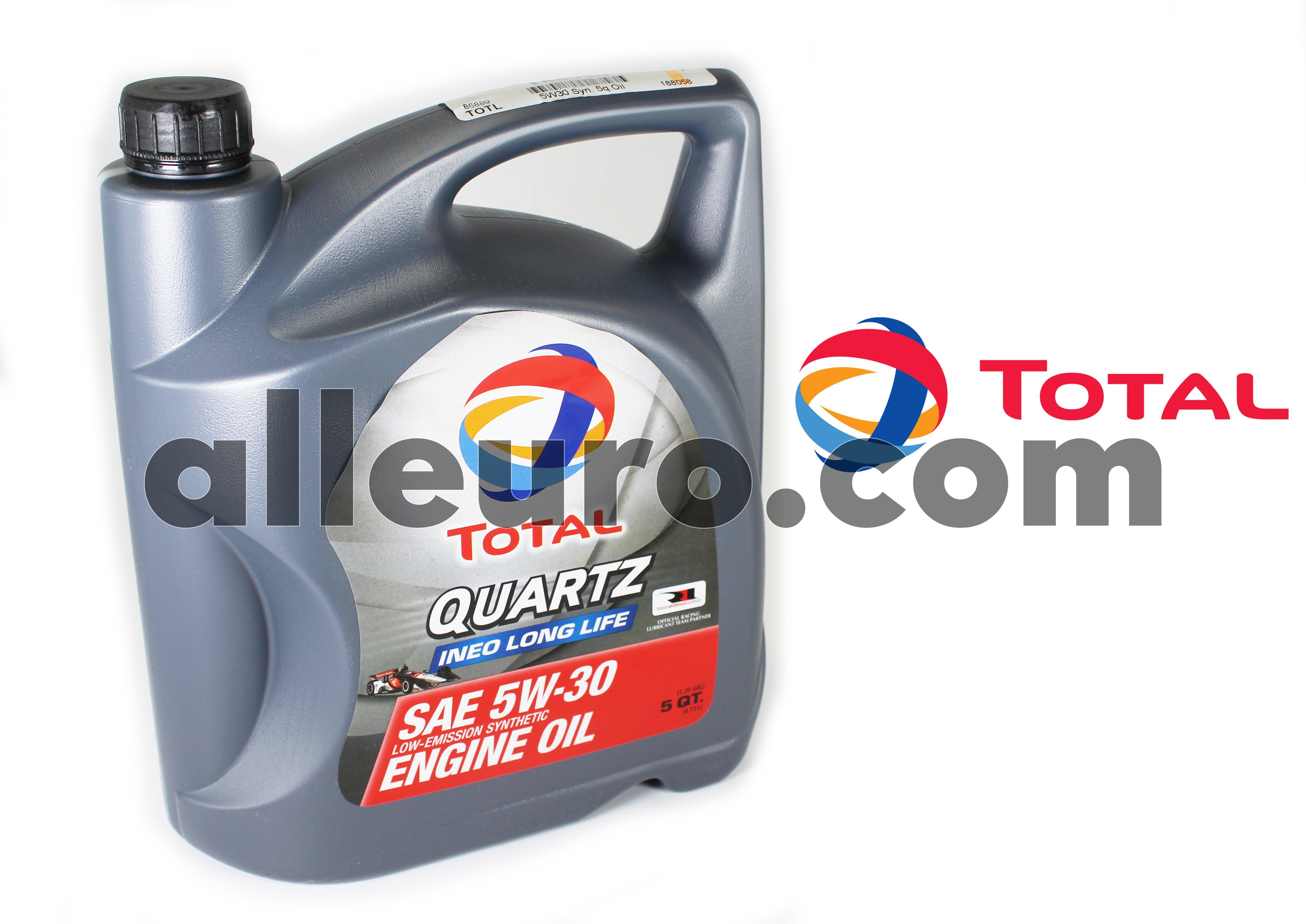 Total Oil 5 Quart Jug 188058 188058