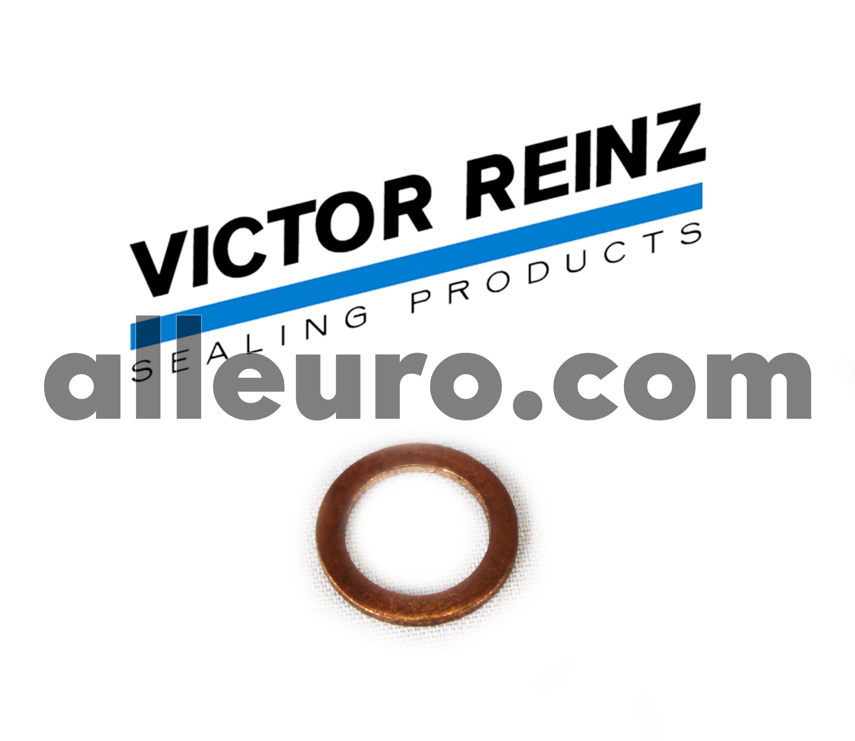 Victor Reinz Copper Washer N-013-830-2 - COPPER WASHER, 8mm X 12mm X 1.0