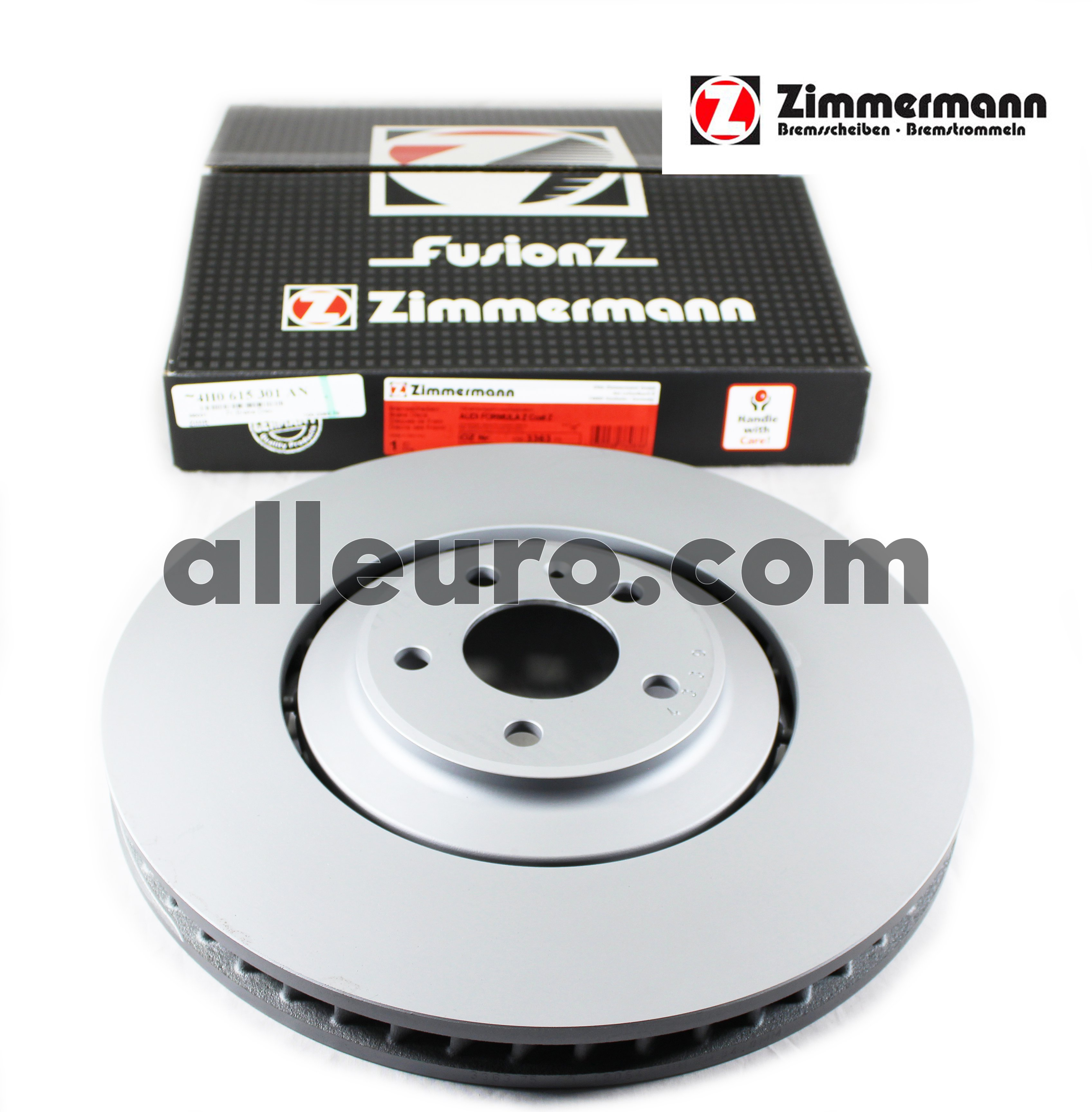 Zimmermann Front Disc Brake Rotor 4H0615301AN