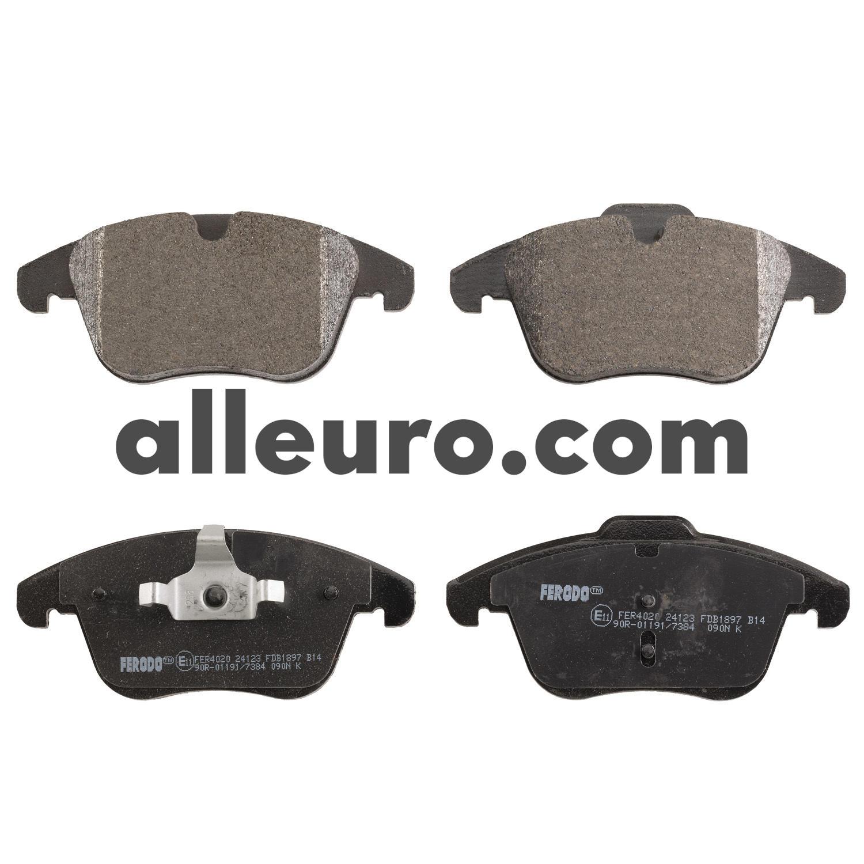 Range Rover Evoque Front Brake Pad Set LR027309  Ferodo Brand
