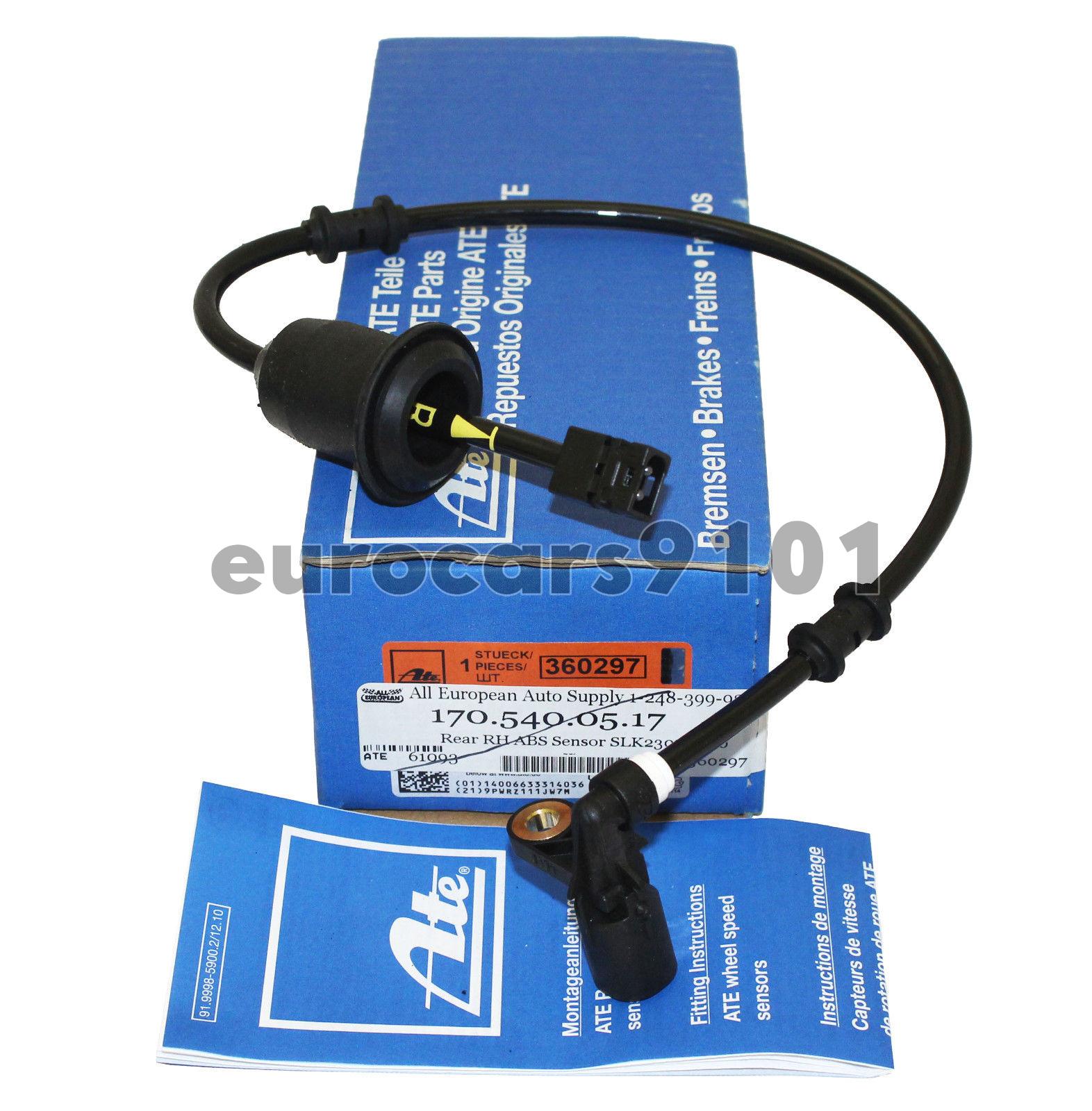 ABS Wheel Speed Sensor ATE fits 2001-2004 Mercedes-Benz SLK230 SLK320 SLK32 AMG