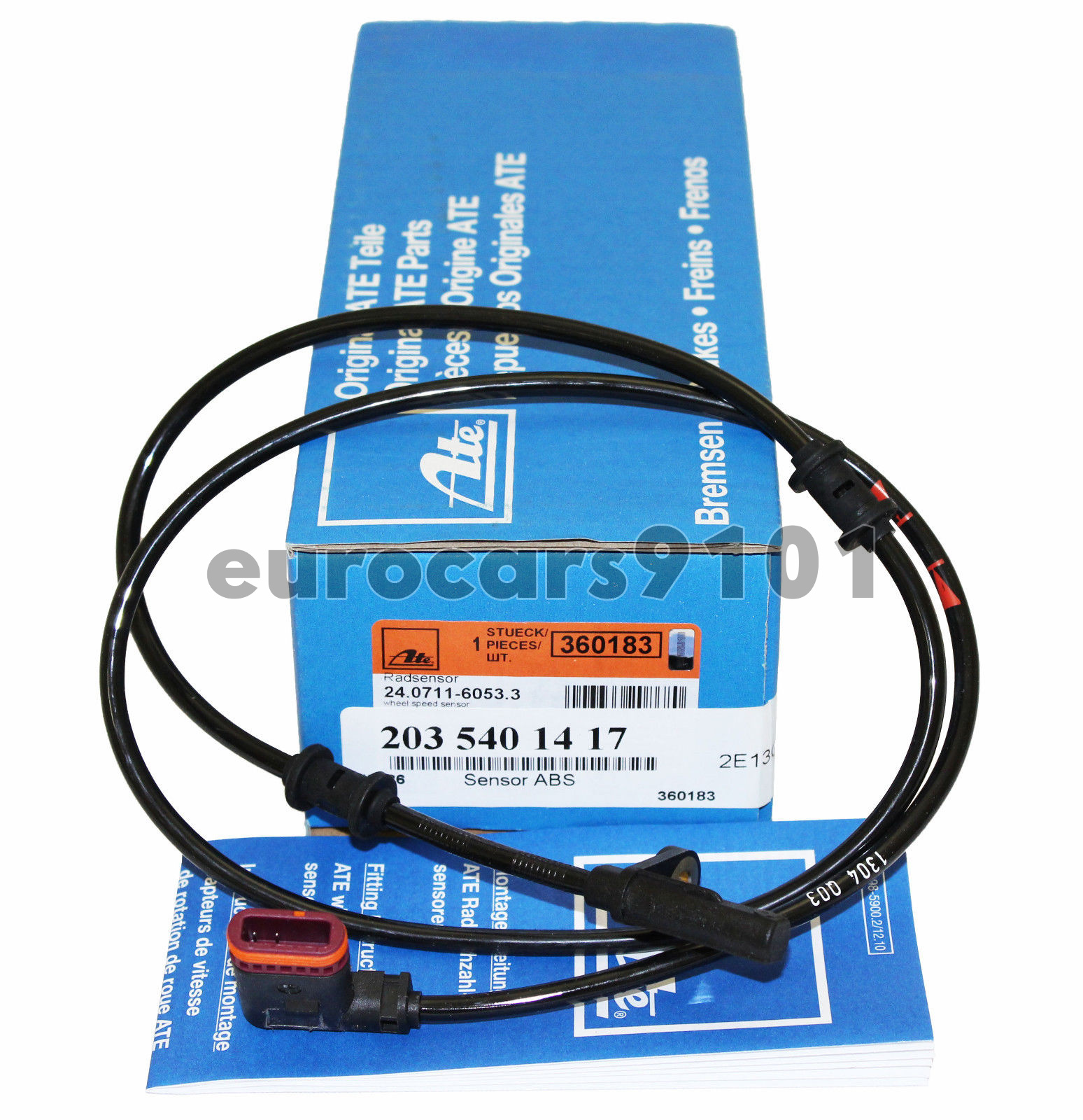 New ABS Wheel Speed Sensor Rear Right 2001-08 for Mercedes-Benz 2035401417