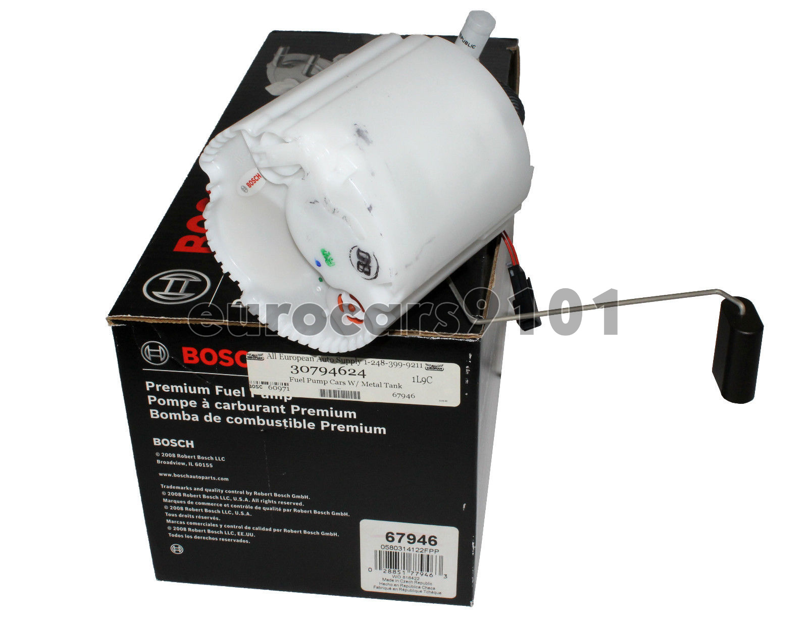 Volvo XC90 Bosch Fuel Pump Module Assembly 69958 30761745 New
