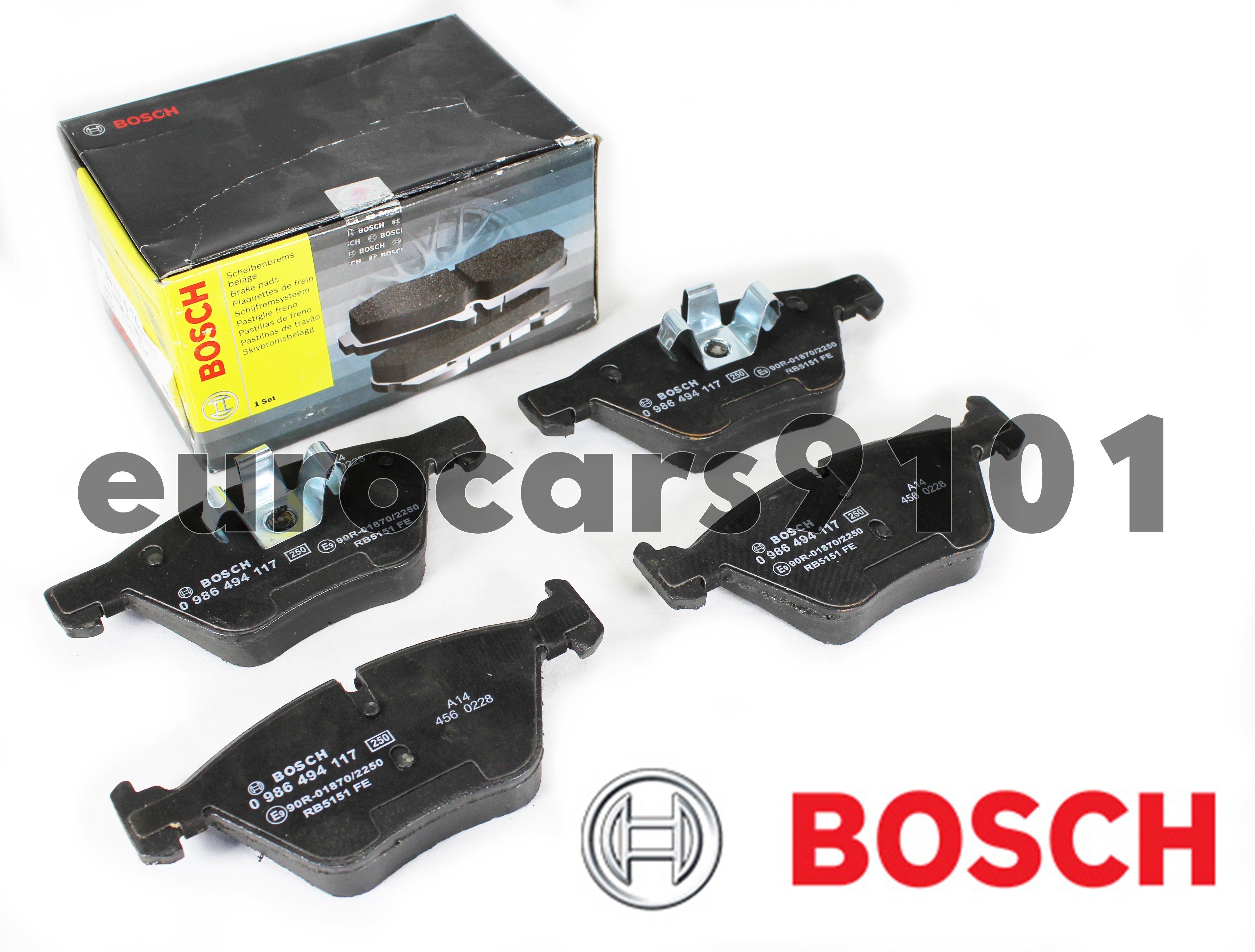 NEW 103.06831 COMPLETE SET REAR BRAKE PAD CENTRIC FITS BMW 525XI 530I 525I 528I