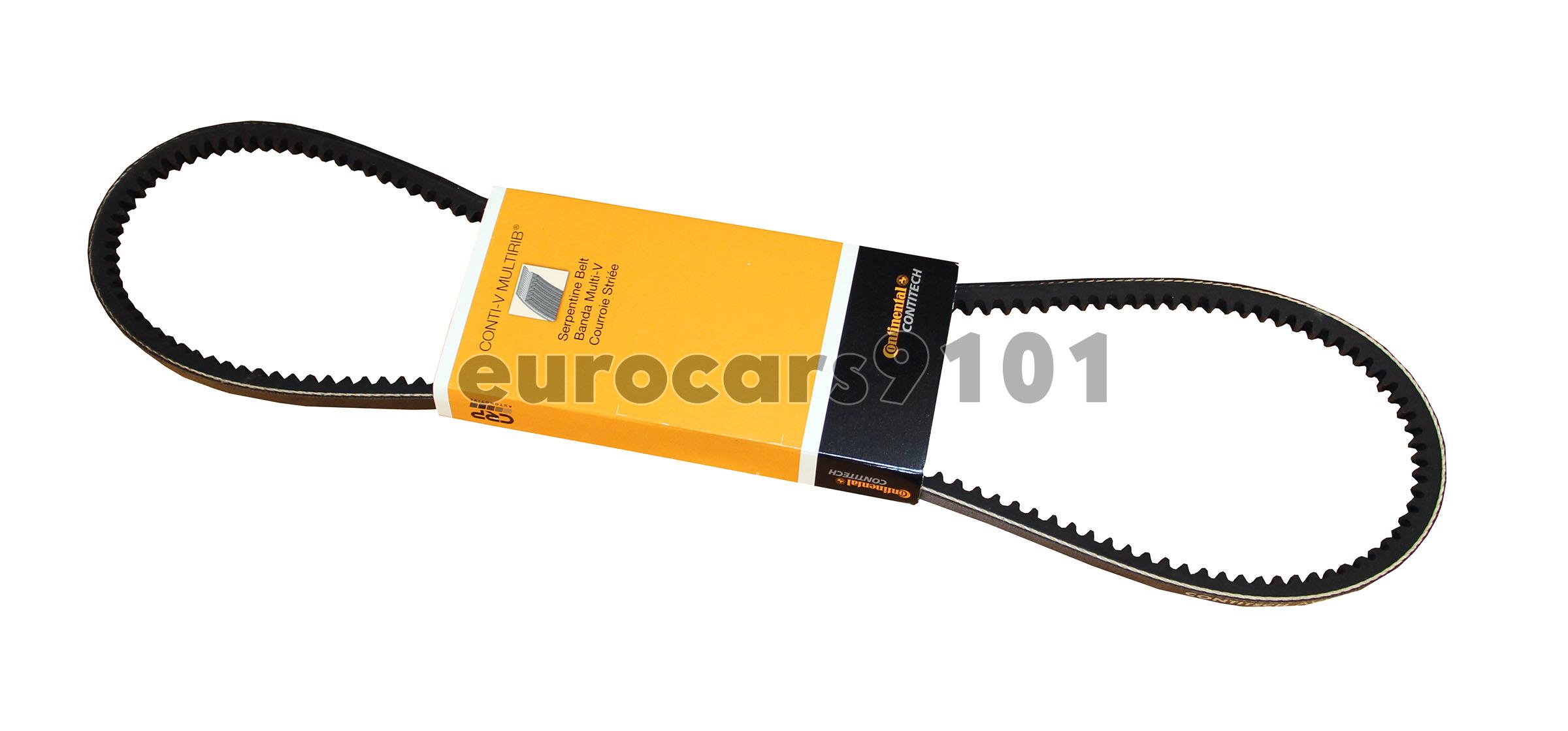 For Mercedes W116 W123 Chevrolet Power Steering Pump Belt Continental 10X1035