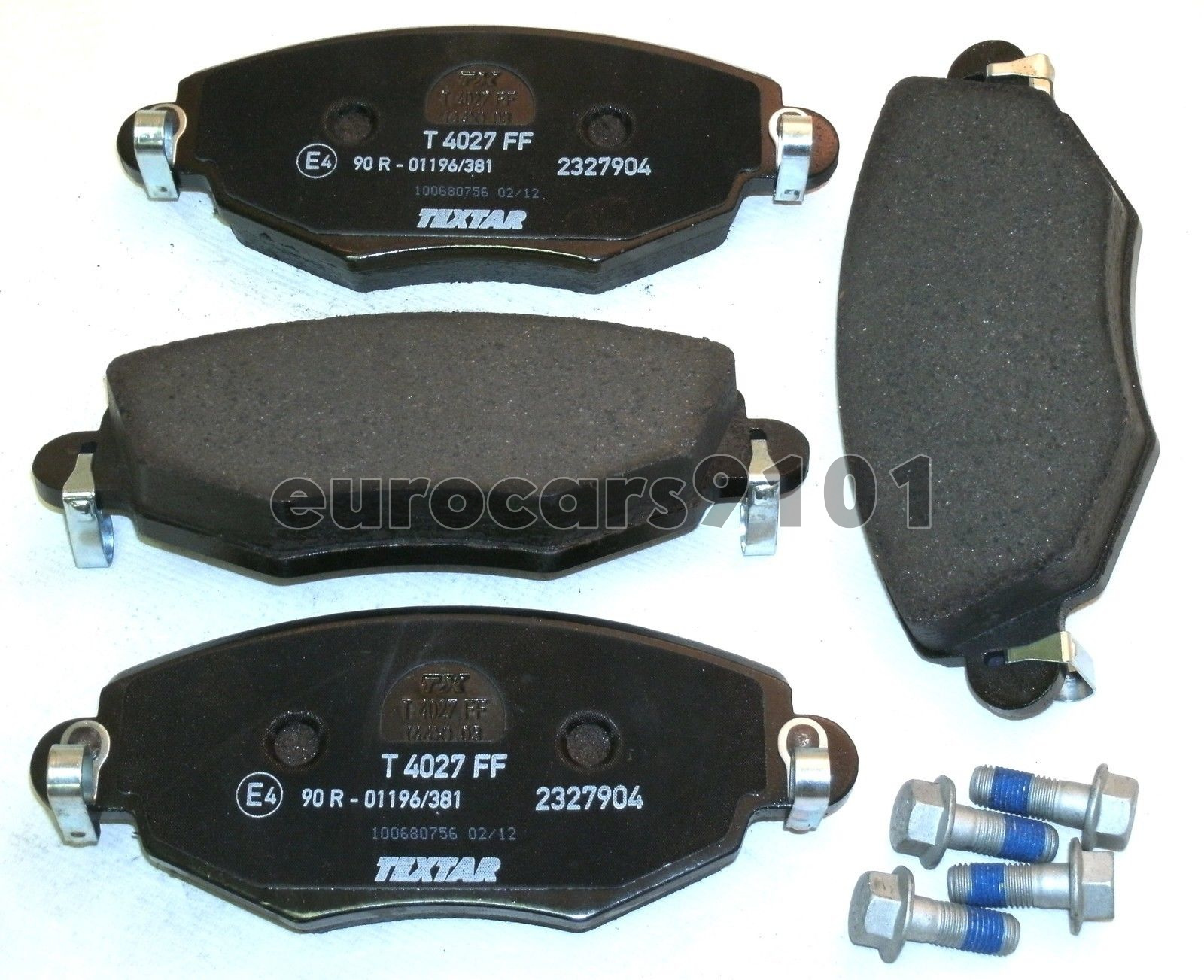 Jaguar Textar Front Disc Brake Pad Set 2327904 C2S52079 New