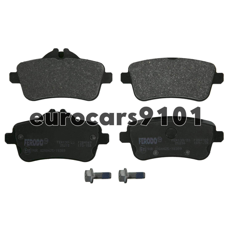 For Mercedes W166 W292 GL63 AMG ML63 AMG Front Brake Pad Set /& Sensor Ferodo
