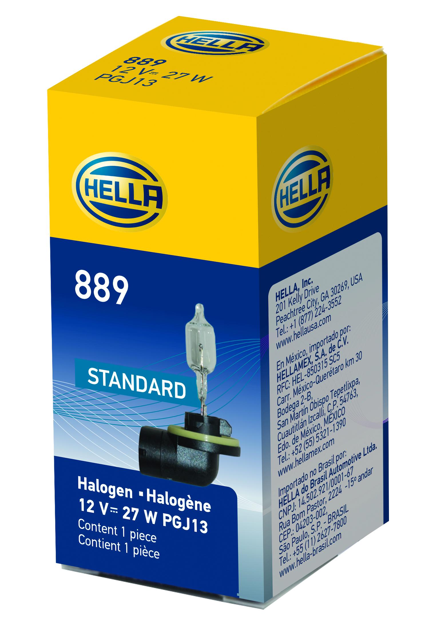 Hella Light Bulbs And Sockets Xenon / Halogen 78436 889