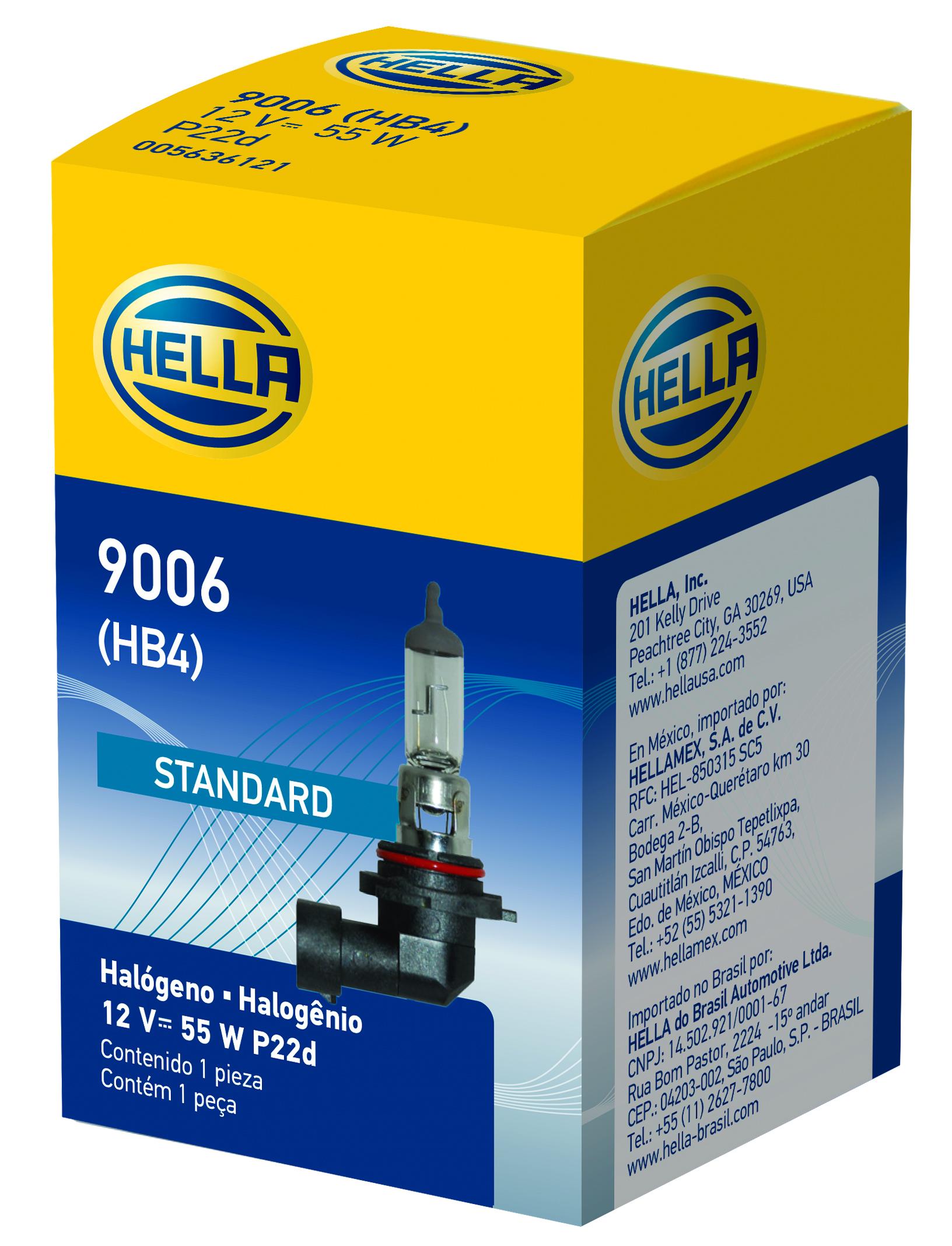 Hella Front Fog Light Bulb LB-9006 9006