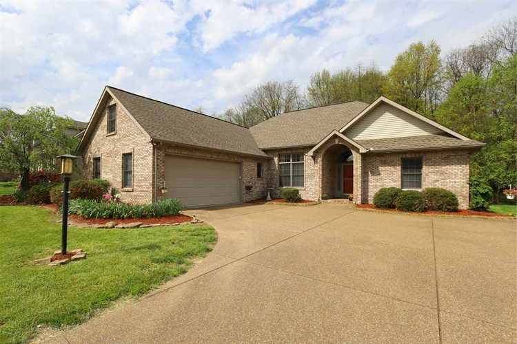 2855  Oak Trail Drive Newburgh, IN 47630 | MLS 201817949