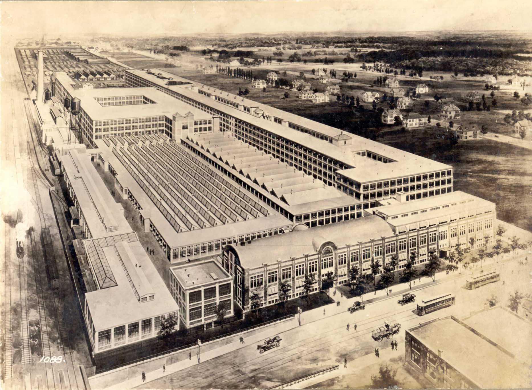 Pierce-Arrow Motor Car Co., Elmwood & Great Arrow, Buffalo