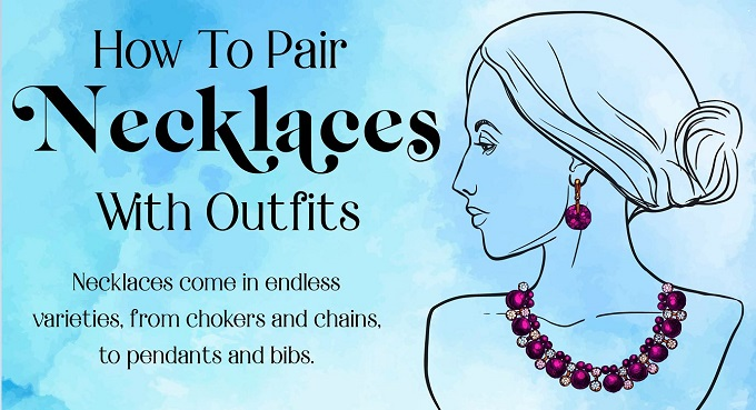 How To Pair Necklaces With Outfits