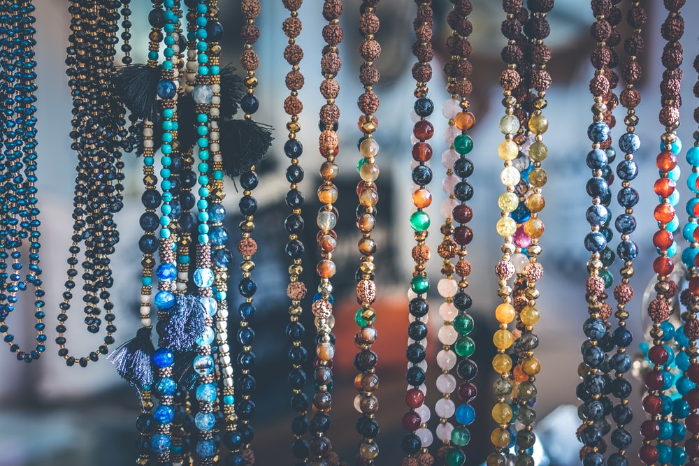 Bead crystals necklaces and bracelets
