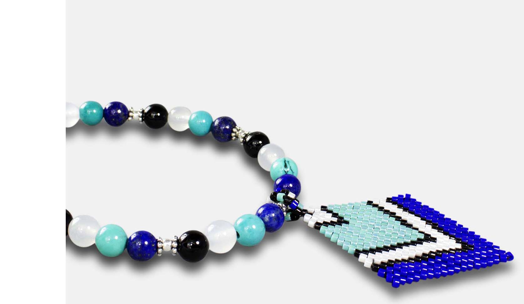 Customizable bead necklace set