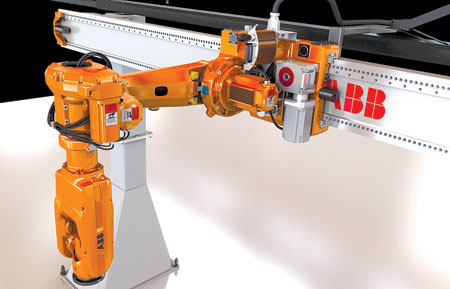 Gantry/Robot Combo Delivers Savings | Automation World