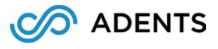 Adents logo
