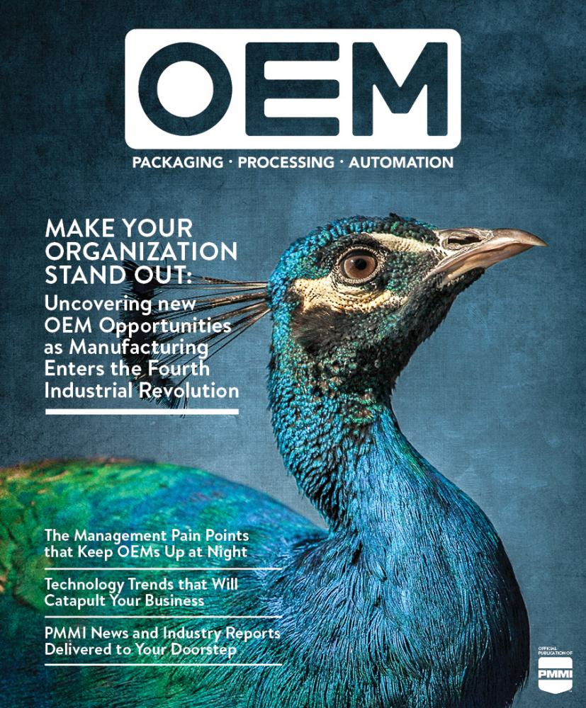 P+P OEM current issue cover