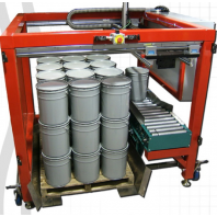 Kinesys: Portable, automated palletizer