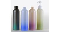 Gradient plastic bottles