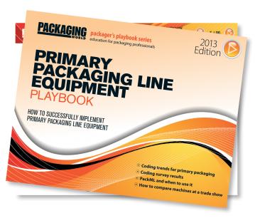 Primary Packaging Line Equipment Playbook